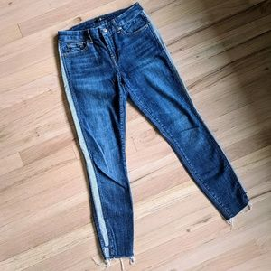 7 For All Mankind Side Stripe Jean